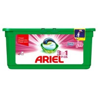 Капсулы для стирки Ariel  3in1 Lenor Fresh 28 шт